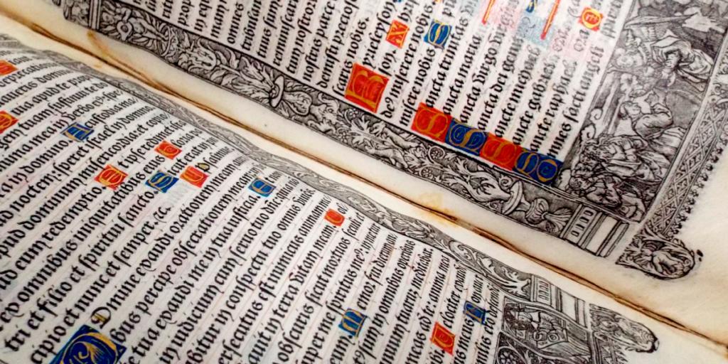 Os Livros Mais Antigos da Coleção