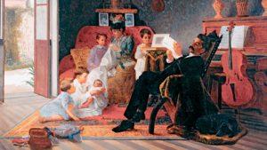 O romance e o lugar da mulher na consolidação da família nuclear
