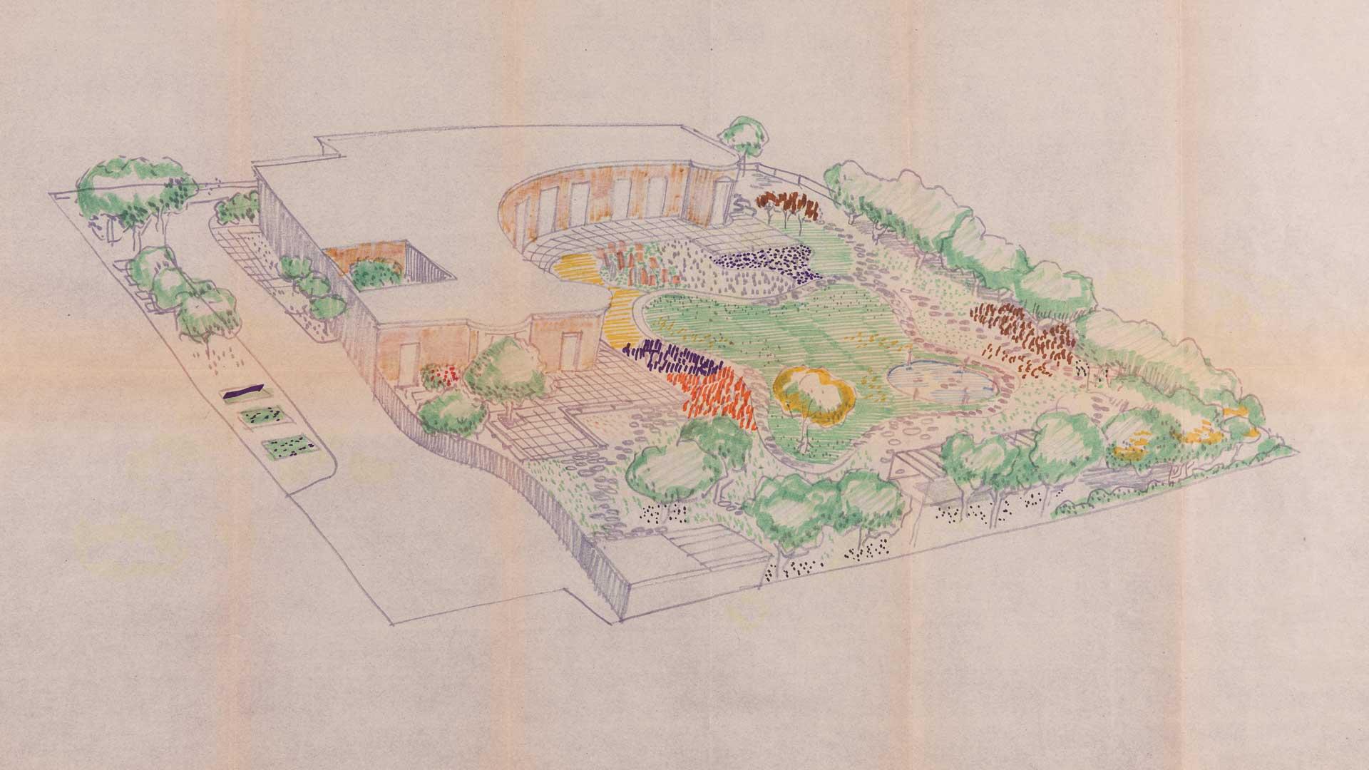 o Jardim da Casa-museu Ema Klabin