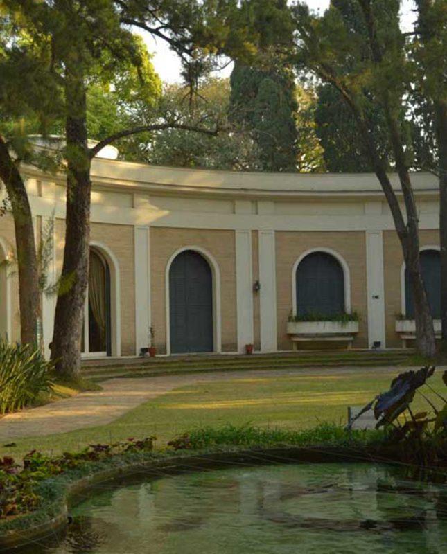 Fachada da Casa-museu