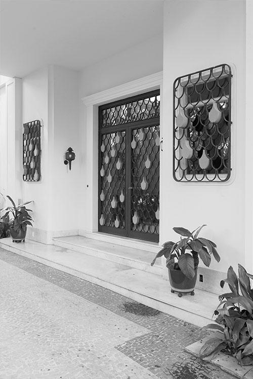 Figura 25. Antiga entrada original da casa-museu. Foto: Marcelo Arruda.