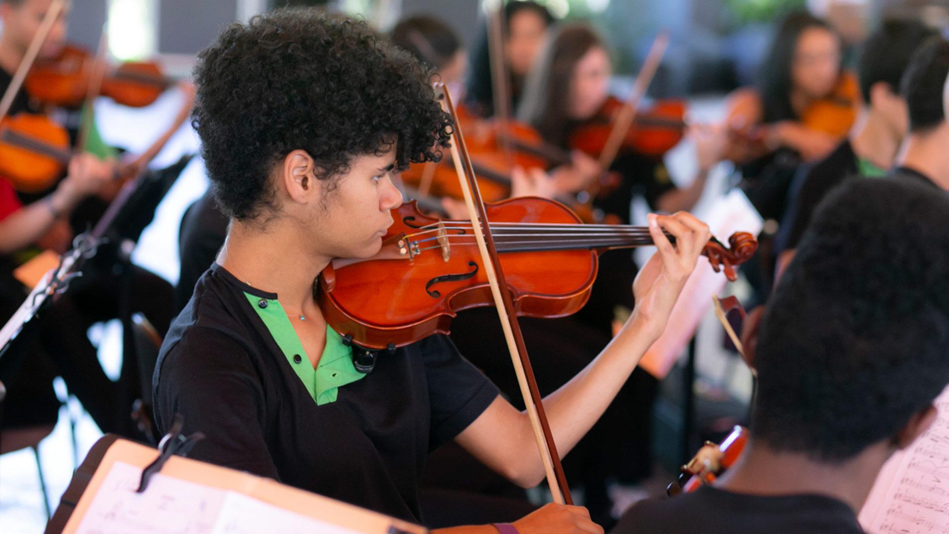 Orquestra de Cordas Infantojuvenil do Guri