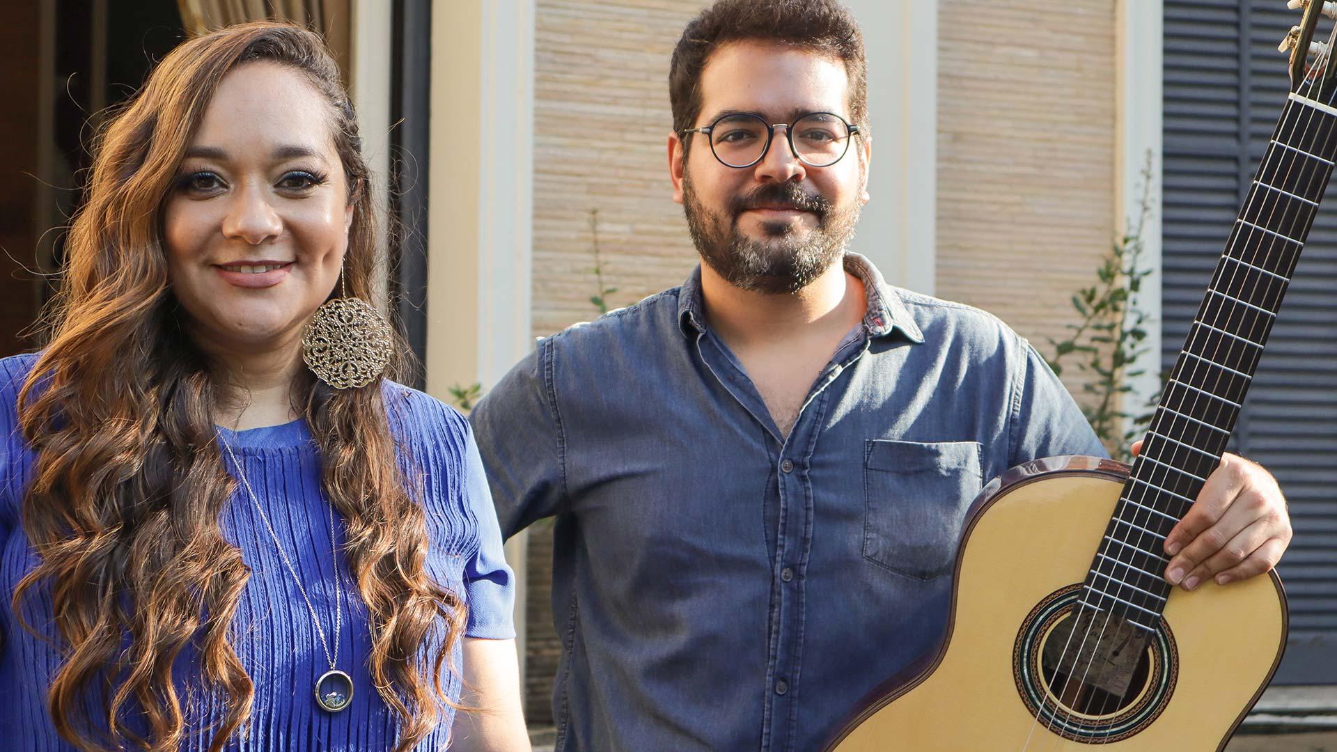 Liv Moraes e Caina Cavalcante