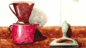 A ilustradora e arquiteta Marla Rodrigues reconhece o ato de desenhar como experiência e possibilidade de acesso a memórias.